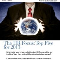 The HR Focus: Top Five for 2013