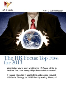 HRFocus2013 231x300 The HR Focus: Top Five for 2013