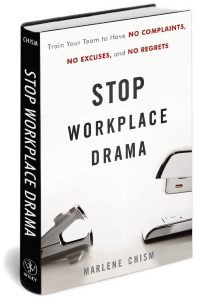 Stop Workplace Drama Book V2 with Transparency 199x300 Leaders who Persecute Create Drama