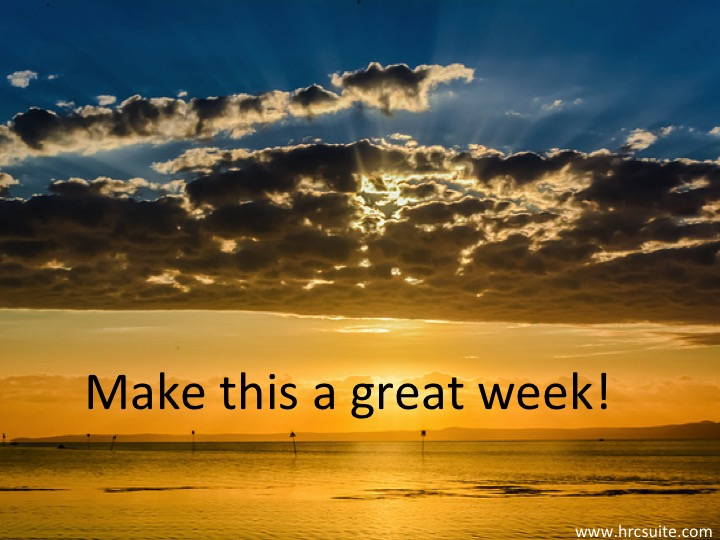 Make This a Great Week