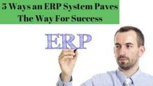5 Ways an ERP System Paves The Way for Success