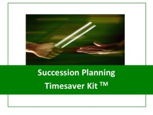 Succession Planning Timesaver Kit